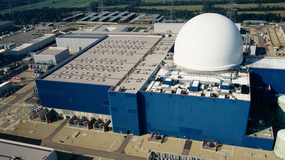 Over a dozen nuclear power stations exist in the UK, all of which require protection - like the Sizewell B nuclear power station in Suffolk (Credit: Alamy Stock Photo)