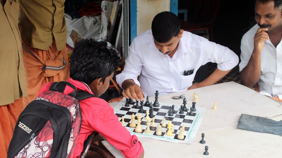 Marottichal's association with chess helps promote a wholesome lifestyle (Credit: Jack Palfrey)