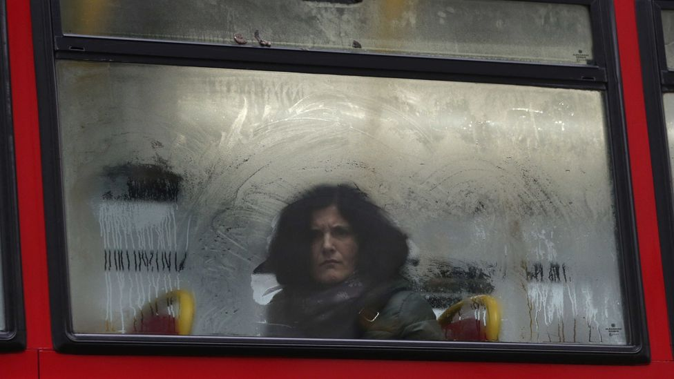 You don't catch that person on the bus watching you, but you know they are (Credit: Getty Images)
