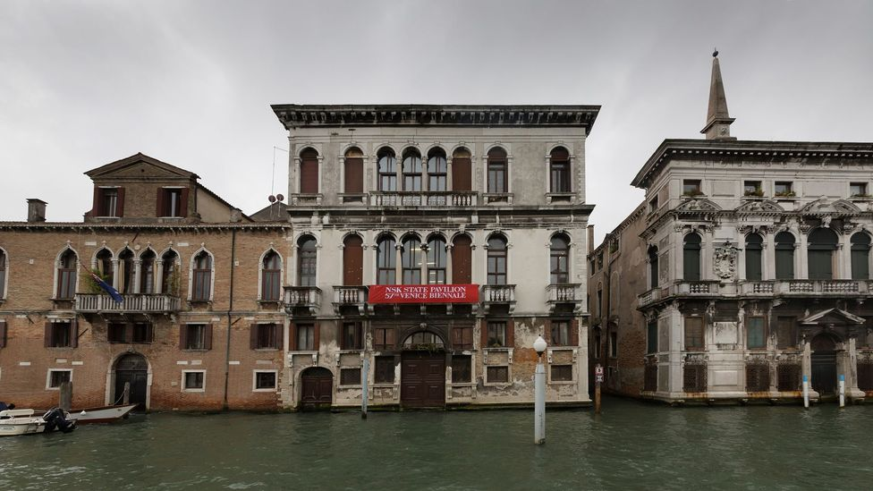 Alongside the NSK's pavilion 86 nations are represented in venues throughout Venice for the Biennale (Credit: Davide Carpenedo)