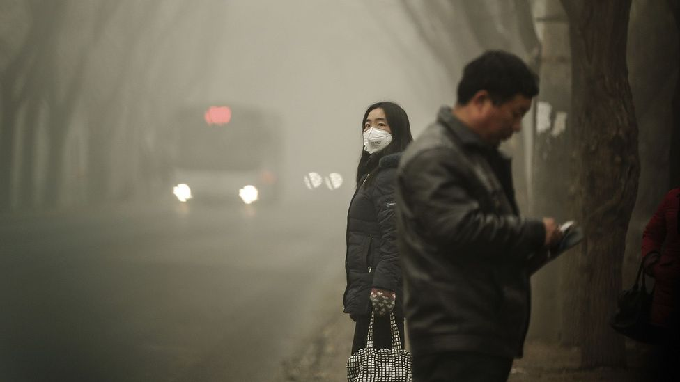 Cities in China and elsewhere in Asia have some of the worst levels of pollution in the world (Credit: Getty Images)