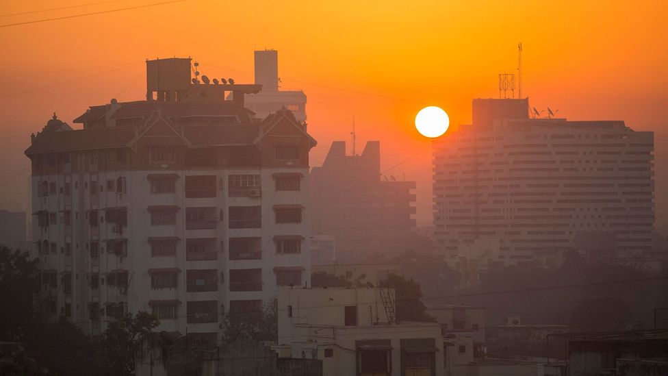 The air pollution in Ahmedabad, India, ignited a health issue – as well as an idea for a business (Credit: Alamy)
