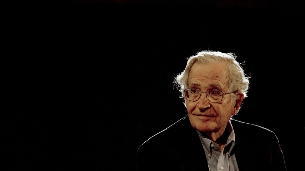 The song Electioneering channels Noam Chomsky's studies into a violent blurt (Credit: Alamy)
