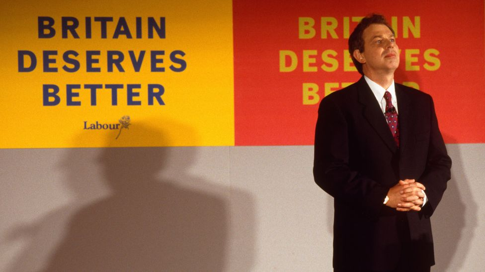 The rise of Tony Blair signalled a prosperous, upbeat time, when Britain's pop culture was booming (Credit: Alamy)