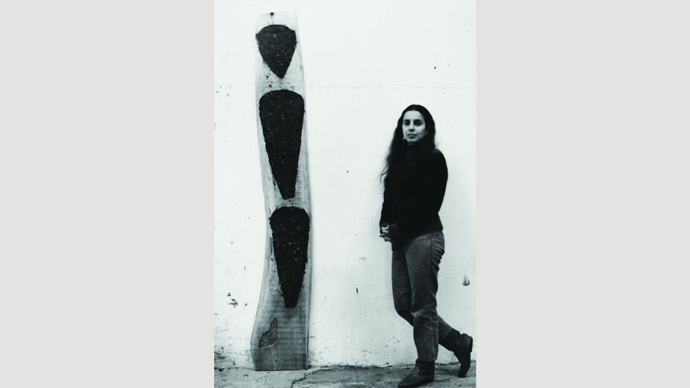 Artist Ana Mendieta fell to her death from the 34th floor of her New York apartment in 1985 – her husband Carl Andre was charged with her murder, then acquitted (Credit: Mendieta)