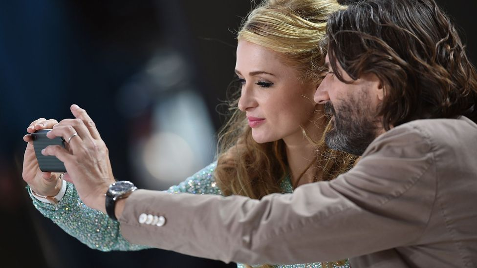 People who takes and post lots of selfies may rate higher on the narcissistic scale (Credit: Getty Images)
