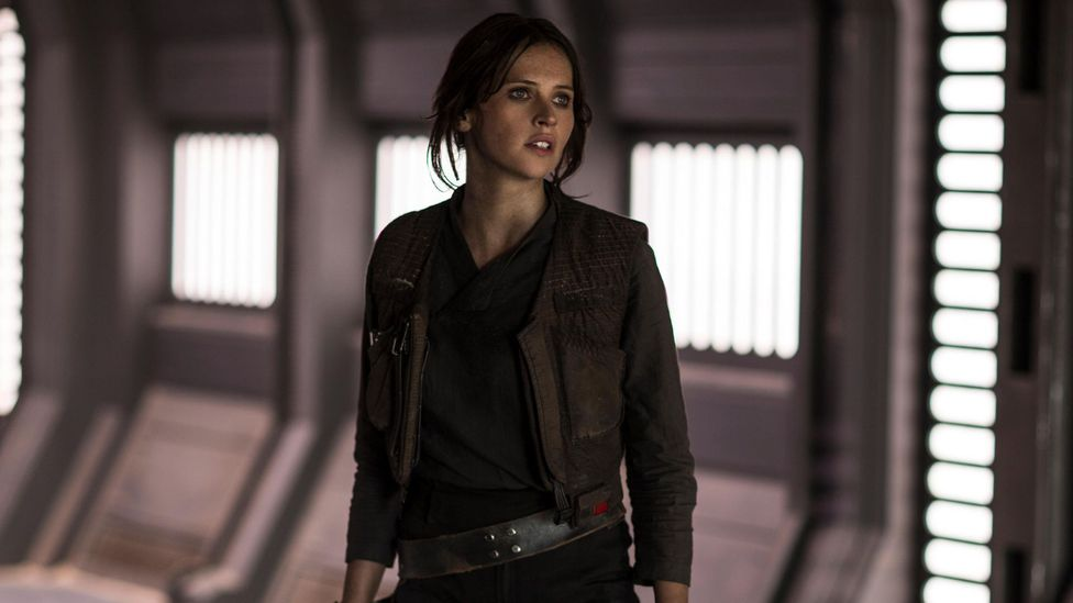 The two most recent Star Wars films, The Force Awakens and Rogue One, draw inspiration from A New Hope, with Rogue One tying into the start of that film (Credit: Lucasfilm)
