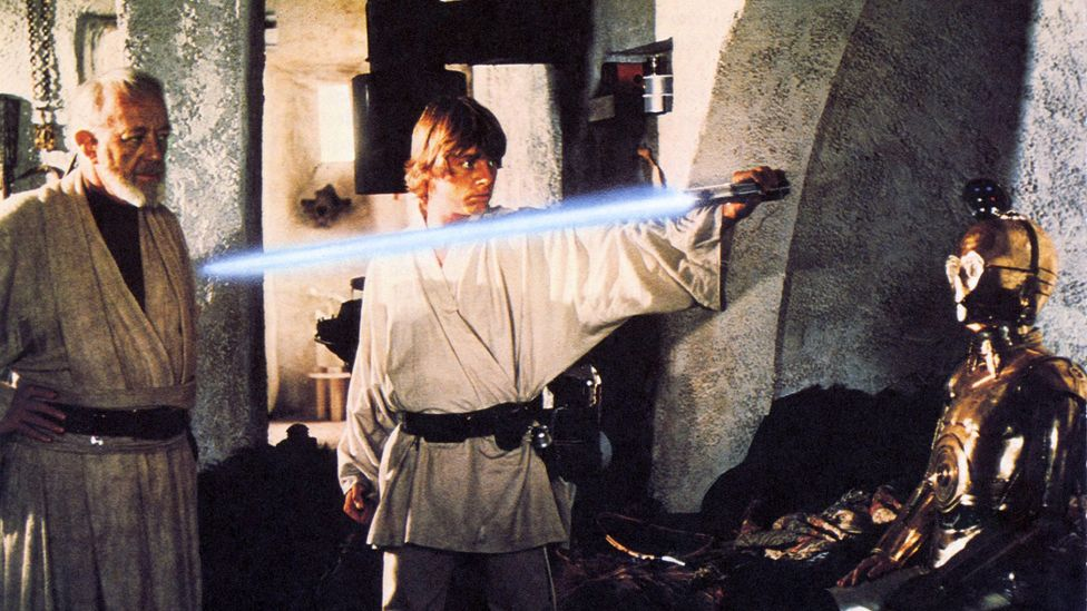 The original Star Wars film hinted at many events in the history of its universe, such as the Clone Wars, which remained a source of mystery to fans for decades (Credit: Alamy)