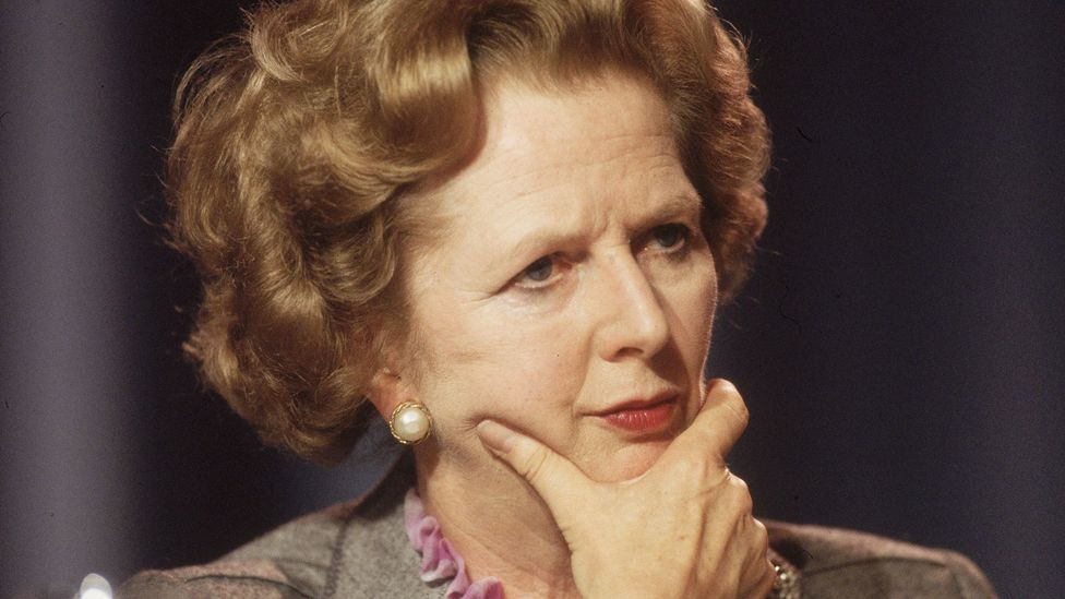 Margaret Thatcher is one of many public figures who have changed how they speak (Credit: Getty Images)