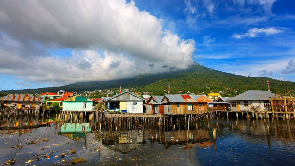 The theory of evolution through natural selection was outlined on Ternate island, Indonesia (Credit: Ali Trisno Pranoto/Getty)
