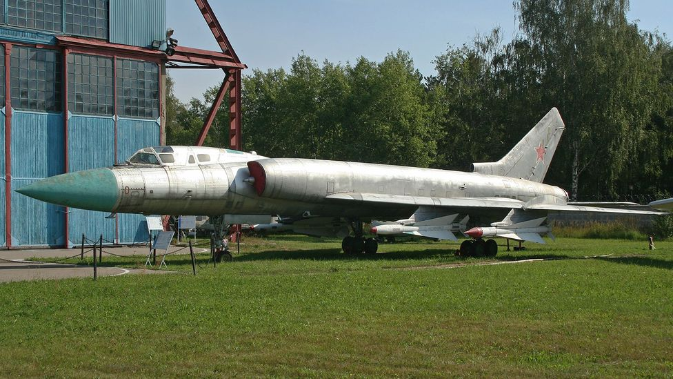 The Soviet Union's borders were so large some of its fighter planes needed to be the size of World War Two bombers (Credit: Maarten / Wikimedia Commons CC BY 2.0)