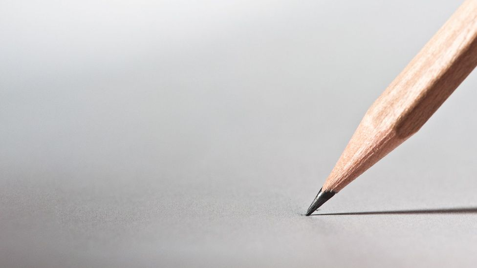 Pencil on paper (Credit: iStock)