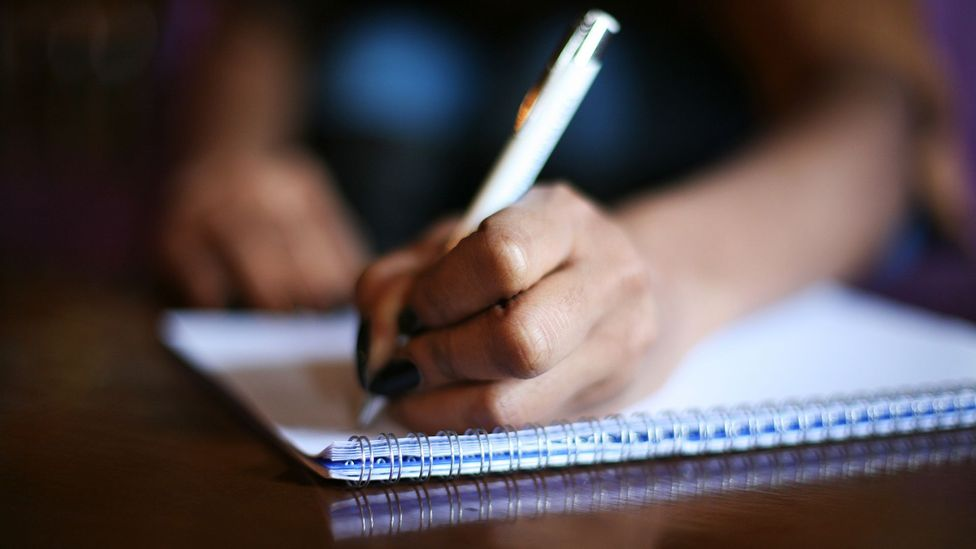 Studies have shown expressive writing can reduce the amount of times people visit the doctor (Credit: iStock)