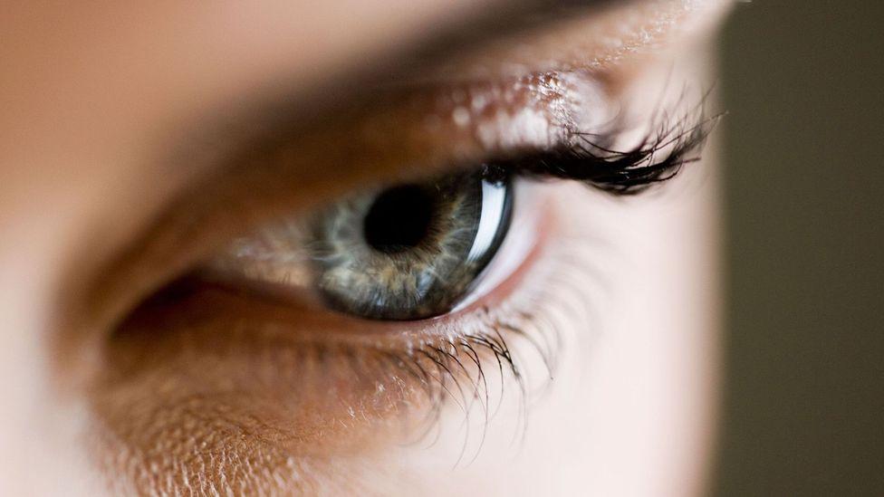 A close-up photo of a woman's eye (Credit: Alamy)