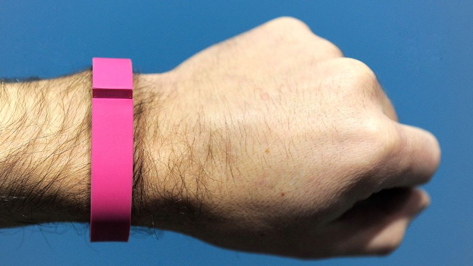 The trend in workplace wellness programmes, helped by fitness trackers, doesn't look like it will end any time soon (Credit: Getty Images)