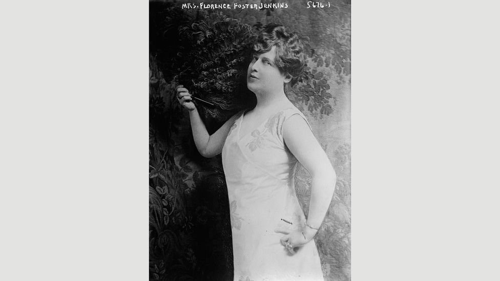 No one could derive pleasure from the incoherent burbling of Florence Foster Jenkins and yet she still had fans, such as Cole Porter (Credit: Wikipedia)