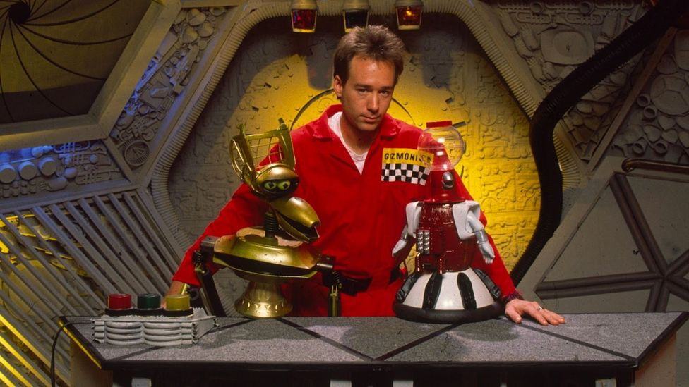 Mystery Science Theater 3000 turned hate-watching into an art form, with commentary from comedians accompanying terrible sci-fi movies (Credit: Netflix)
