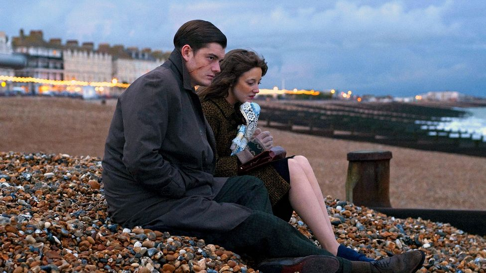 The 2010 film Brighton Rock, based on the Graham Greene novel of the same name, provides a dark portrayal of the seaside town (Credit: Alamy)