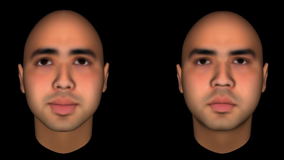 Having a happier facial expression can make you appear more trustworthy (Credit: Social Perception Lab/Princeton University)