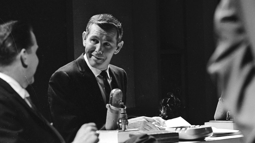 Psychologist and retired FBI agent Schafer points to Johnny Carson as someone who preferred being alone, but learned to be extremely sociable for the camera (Credit: Getty Images)