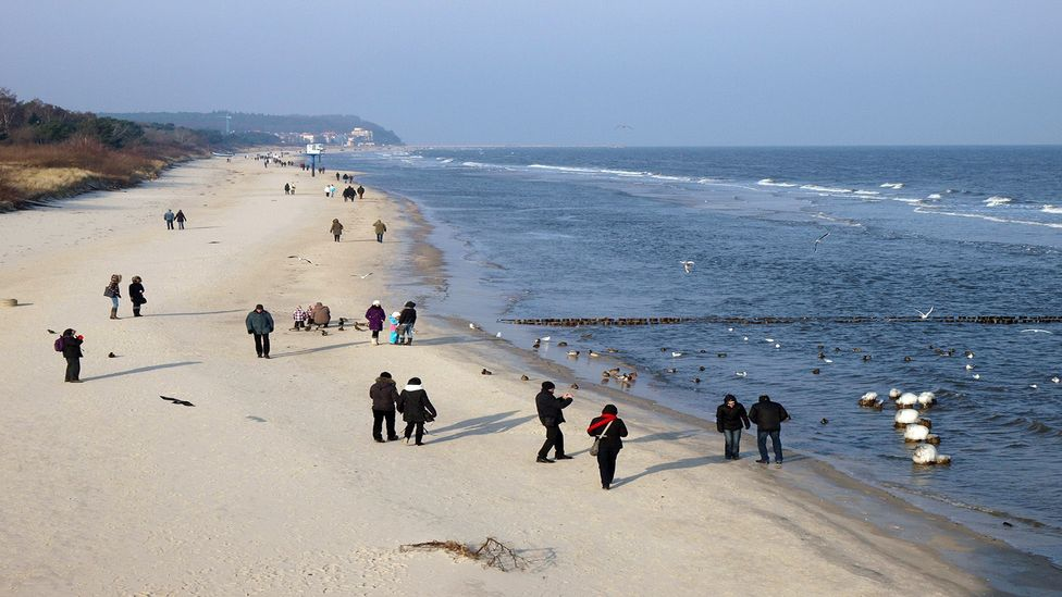 Usedom draws visitors with its white sandy beaches and quaint seaside towns (Credit: Ullstein Bild/Getty Images)