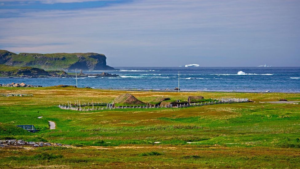 L'Anse Aux Meadows in Newfoundland was the site of the first European settlement in the New World (Credit: Interfoto/Alamy)