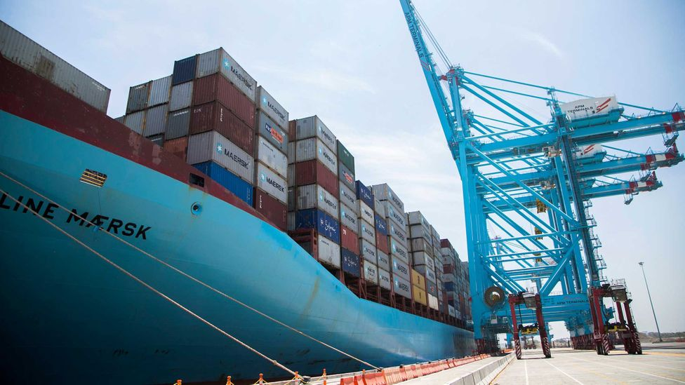 The attack affected the shipping company Maersk (Credit: Getty Images)