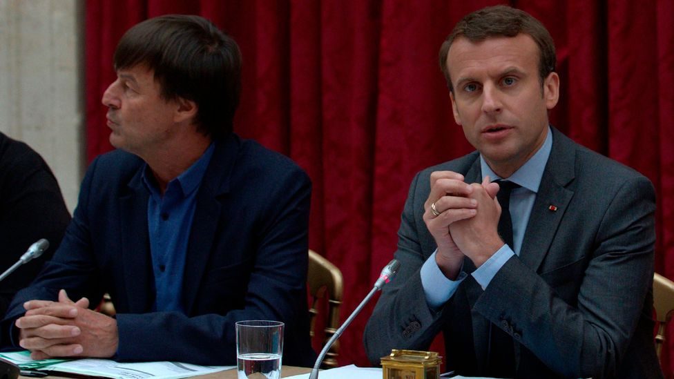 French president Emmanuel Macron has voiced interest in attracting scientists, researchers and other highly skilled workers to France to fight climate change (Credit: Getty)