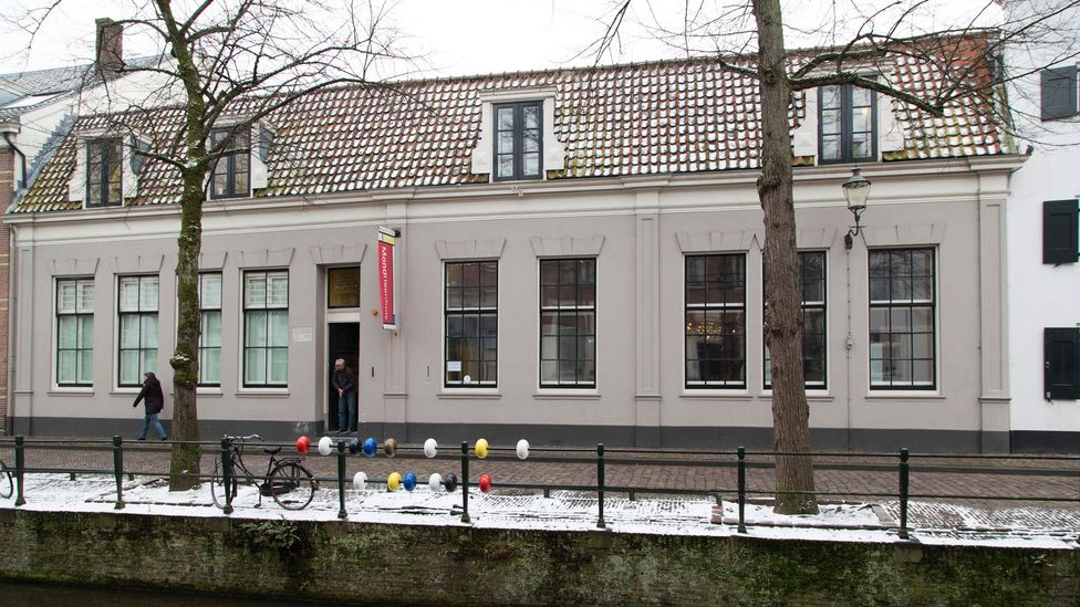 Mondrian was born in this house in the small Dutch town of Amersfoort – today it's a museum devoted to his life and work (Credit: Alamy)