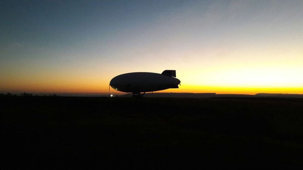 The Brazilian airship is based on an earlier design made in the US (Credit: Airship Do Brasil)