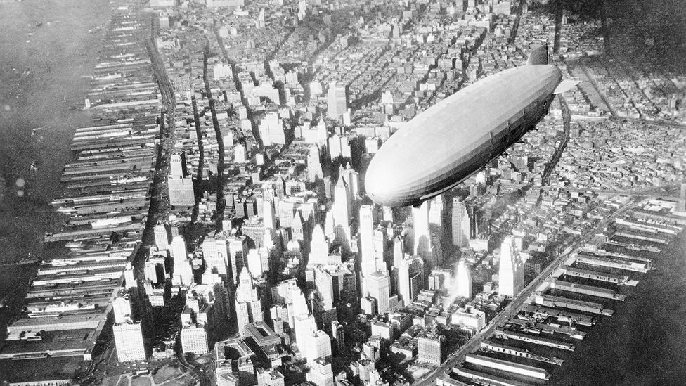 The US Navy based some of its airships in Brazil during World War Two (Credit: Science Photo Library)