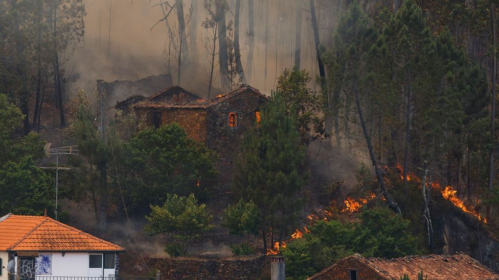 During the recent fires in Portugal, many people perished trying to escape at the last minute (Credit: Getty Images)