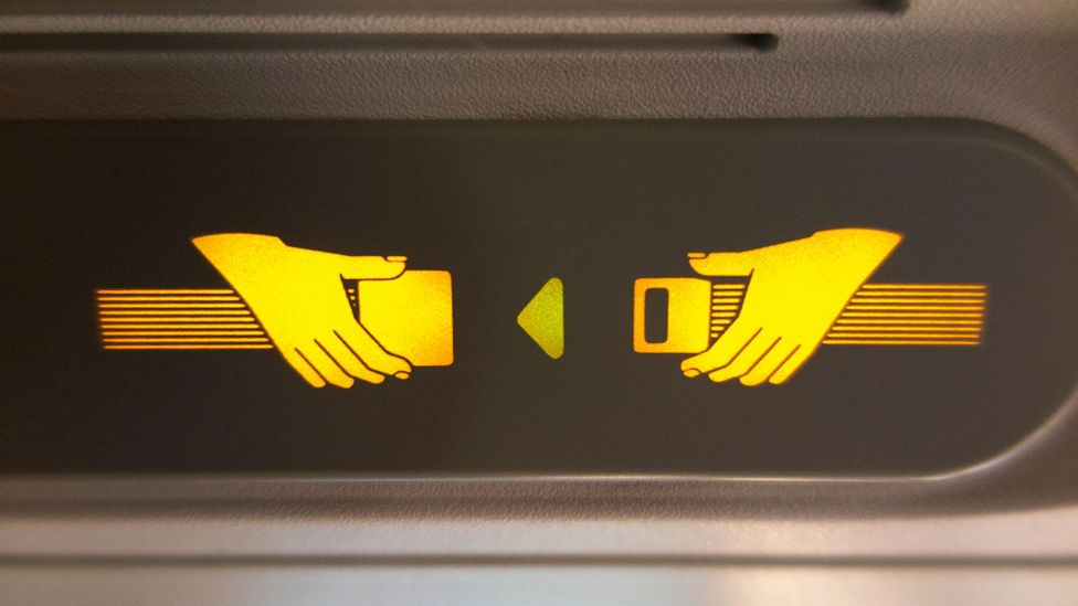 Those not wearing a seatbelt are nearly four times more likely to die in the event of a plane crash (Credit: Alamy)