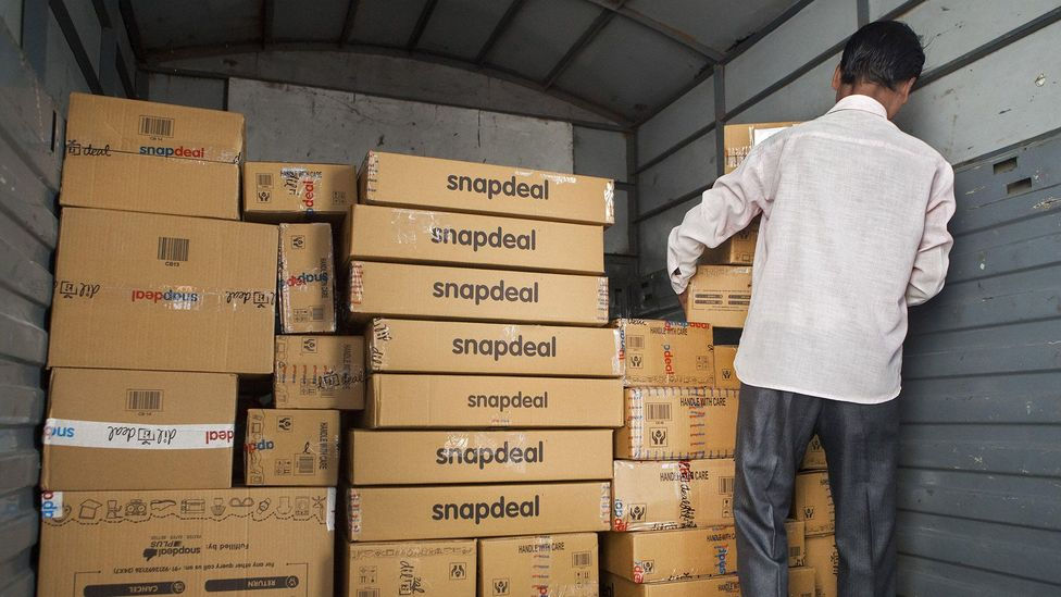Successful e-commerce companies such as Snapdeal have created a boom in online payments – and opportunities for thieves (Credit: Getty Images)