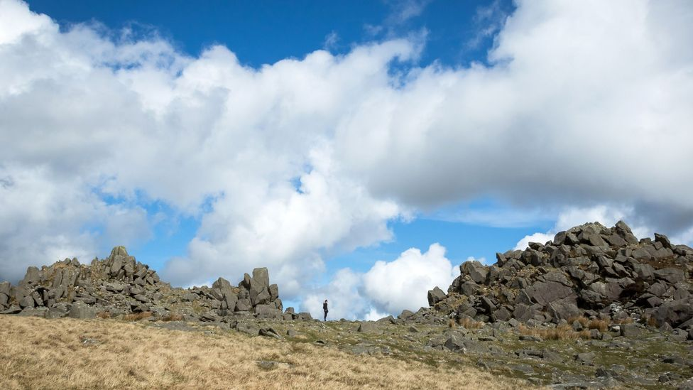 The outcrops of the Preseli hills in Wales (Credit: Vivien Cumming)