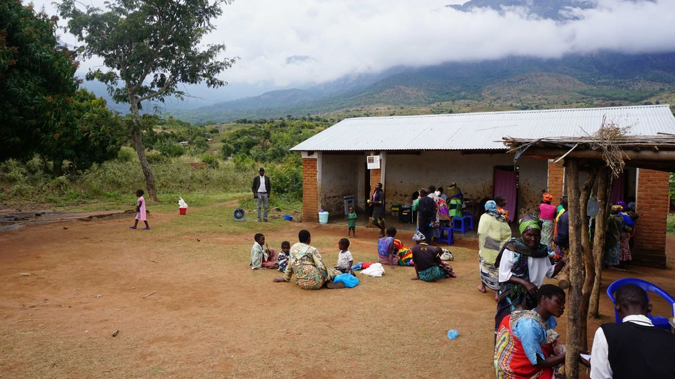 The district of Mulanje in Malawi is home to about 673,000 people and has one of highest incidence rates for HIV in the region (Credit: Jake Harper/ETAF)