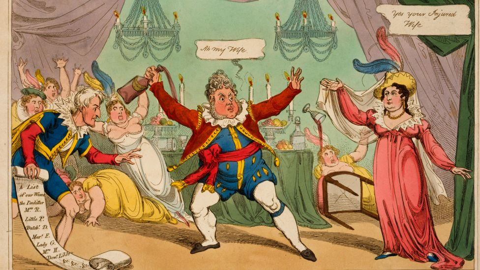 The oft-satirised King George IV was one of Jane Austen's devoted fans (Credit: Alamy)