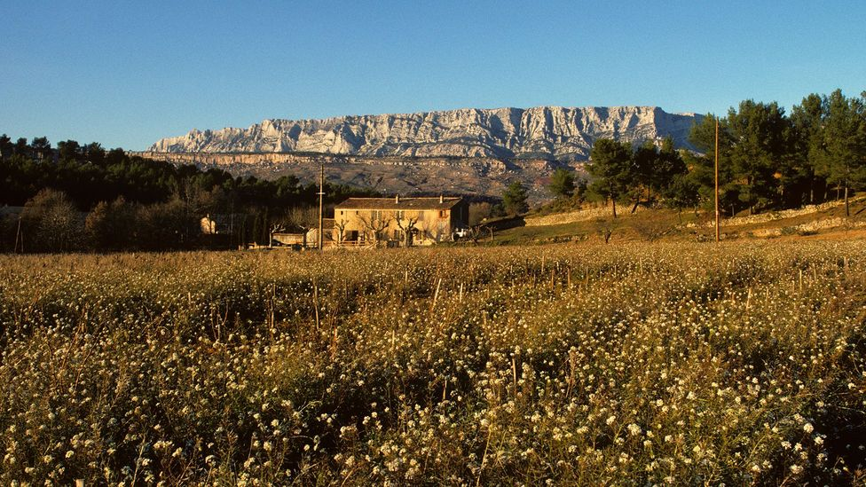 Mont Ste-Victoire stands more than 1,000m above the Provencal town of Aix-en-Provence (Credit: John Heseltine/Alamy)