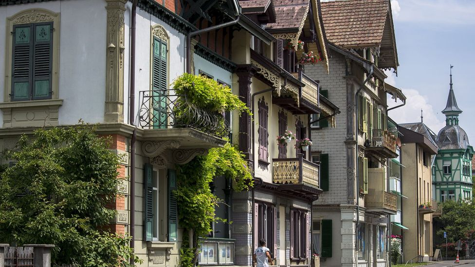 The Swiss capital of Bern boasts historic arcades, sandstone buildings and fountains (Credit: Tim Graham/Getty Images)