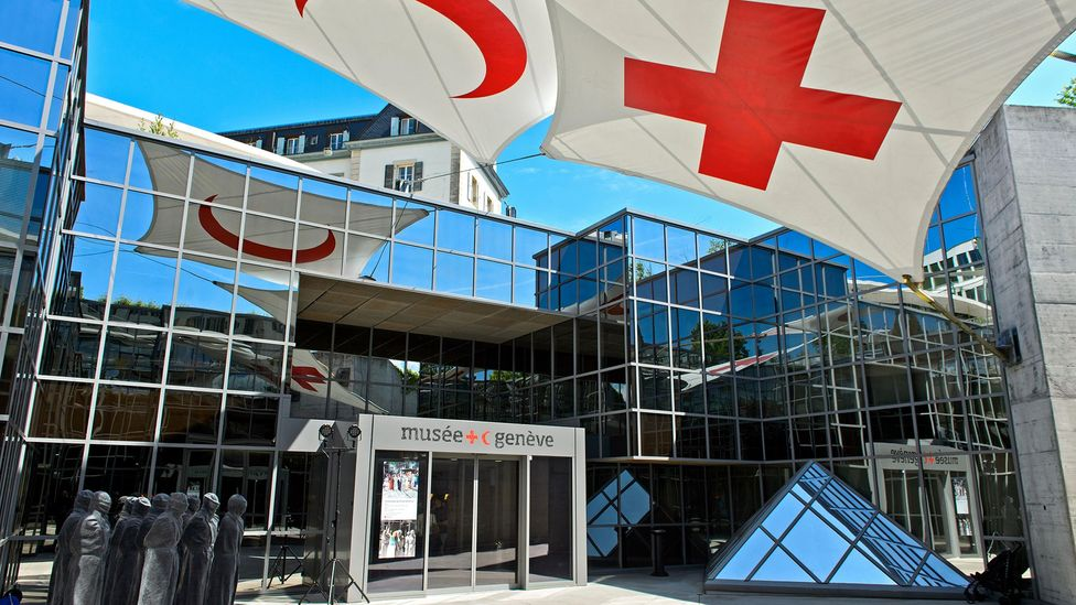 The Red Cross Museum in Geneva documents Switzerland's commitment to humanitarian aid (Credit: GFC Collection/Alamy)