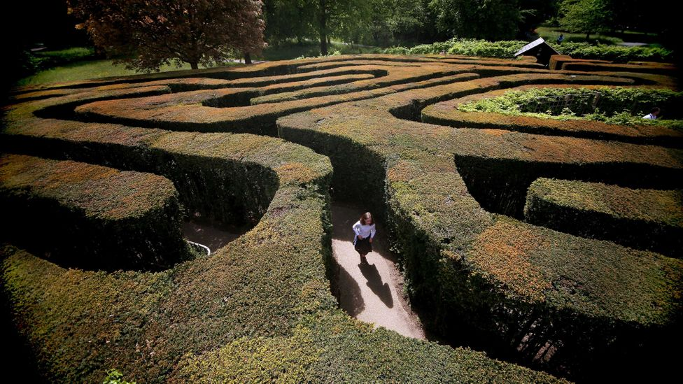 The labyrinth metaphor was proposed in 2007 as an alternative to the glass ceiling (Credit: Getty Images)