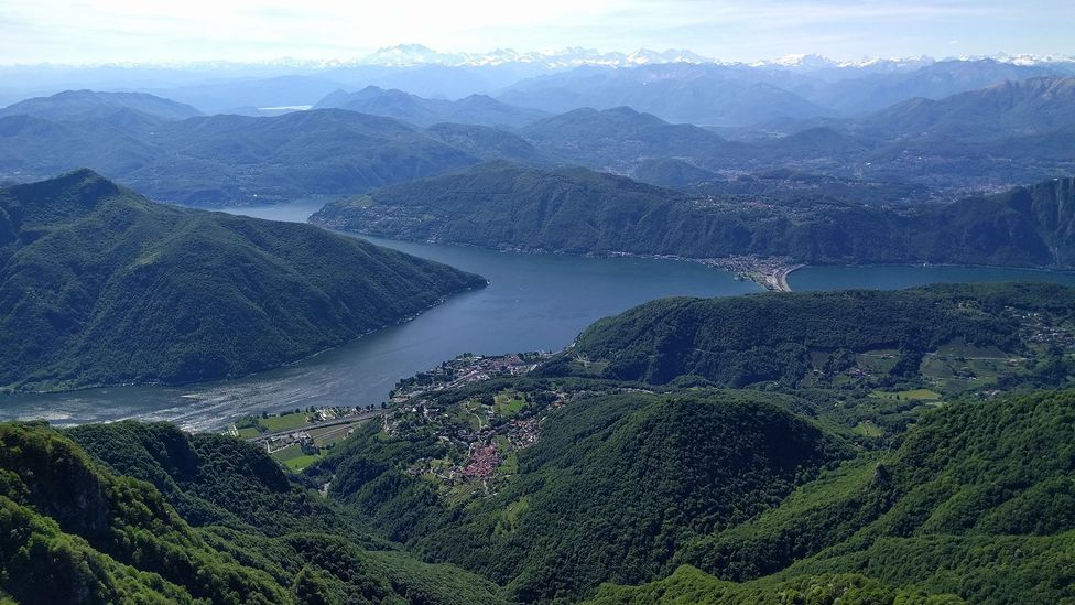 Ticino and the passage to the Alps were strategically important in Swiss military history (Credit: Billie Cohen )