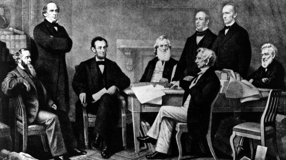 Extroverts like Abraham Lincoln really are louder and chattier than the rest of us (Credit: Getty Images)