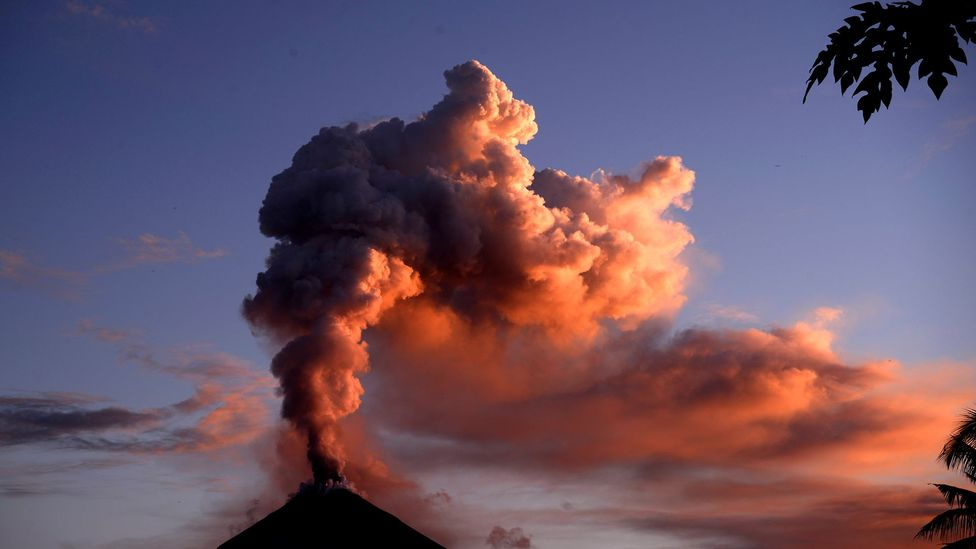Volcanic plume (Credit: Getty Images)