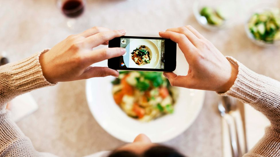 Social media's made it easy for people to curate and share aspects of their life which are in keeping with the image they'd like to project (Credit: Getty Images)