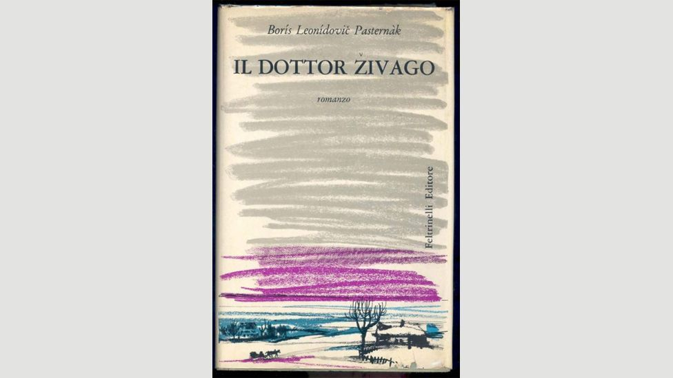 After it was rejected by the USSR, Boris Pasternak smuggled Doctor Zhivago to Italy where it was first published – the CIA helped it get printed elsewhere (Credit: Alamy)