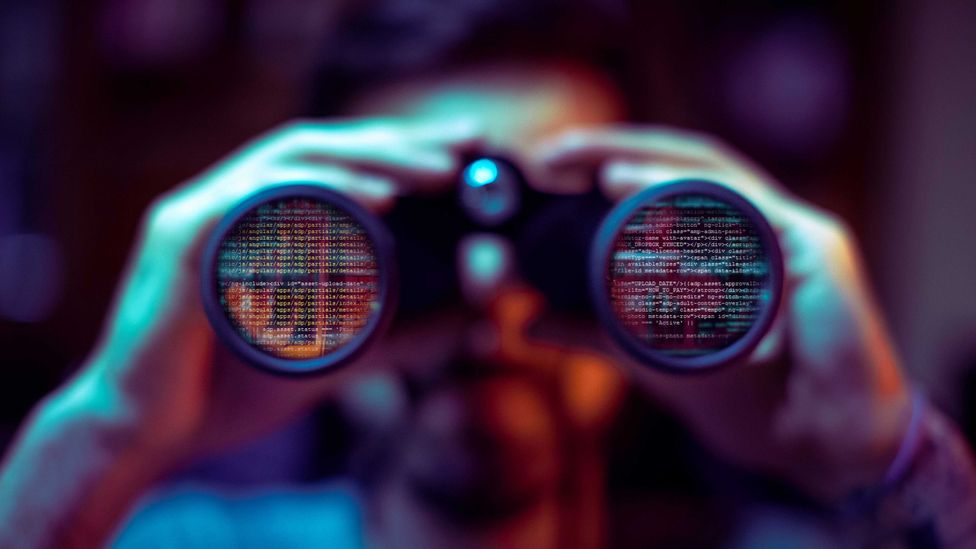 Binoculars: Not the typical tool of a sophisticated hacker (Credit: iStock)