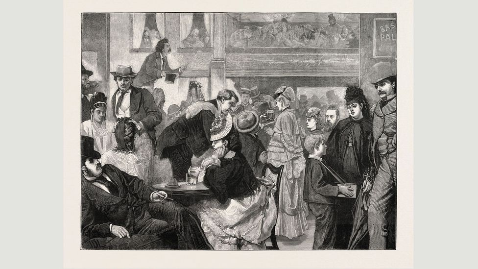 Parlyaree began to be used in music halls in the late 19th Century, and became known as Palarie (Credit: Alamy)