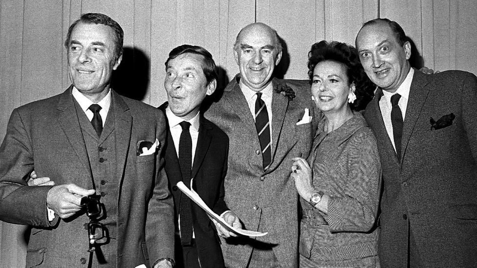 Round the Horne was a BBC radio series which starred Hugh Paddick and Kenneth Williams as out-of-work actors Julian and Sandy (Credit: Alamy)