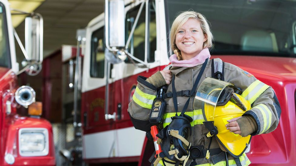 Why do we think of a firefighter as a man and a nurse as a woman and not the other way around? (Credit: Getty Images)